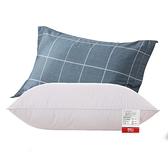 枕芯 南極人全棉枕頭單人帶純棉枕套套裝學生宿舍酒店家用枕芯一對拍2 晶彩 99免運