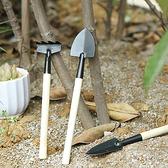 園藝器具 家用 園藝 鐵鏟 耙子 園藝DIY 長瘦柄 鬆土 多肉植物 栽種 迷你園藝工具組 【L107】慢思行