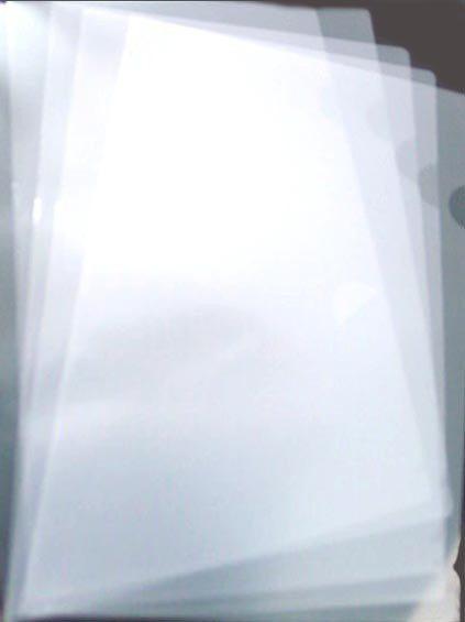 (促銷)L型文件夾白色 E310 (48個/包)