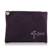 ettusais 艾杜紗 甜心帆布化妝包-紫色(23x2x17cm)【美麗購】