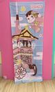 【震撼精品百貨】Peko 不二家牛奶妹~不二家紗布長方巾-藍京都#10526