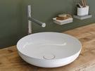 【麗室衛浴】德國KALDEWEI 3181 Miena圓形檯上盆 38cm (含抗污/亮白)