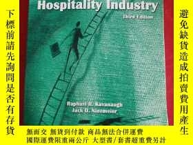 二手書博民逛書店Supervision罕見in the Hospitality Industry Third Edition 書內