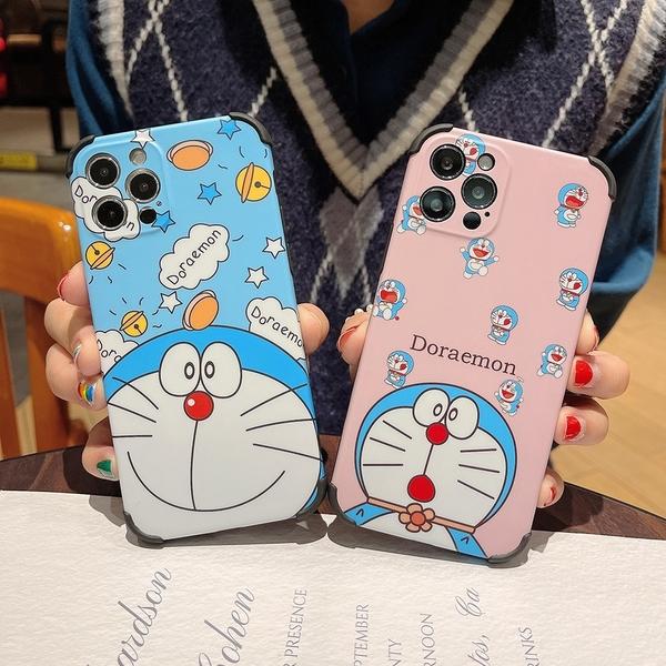 iPhone 11 Pro Max Mini 手機殼 創意卡通軟殼 保護套 四角防摔保護殼 親膚手機套 iPhone12