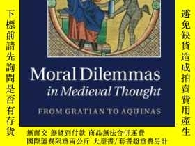 二手書博民逛書店Moral罕見Dilemmas In Medieval ThoughtY364682 M. V. Doughe