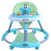 嬰兒學步車靜音輪可折疊6-18個月防側翻帶音樂多功能寶寶車 東京衣櫃