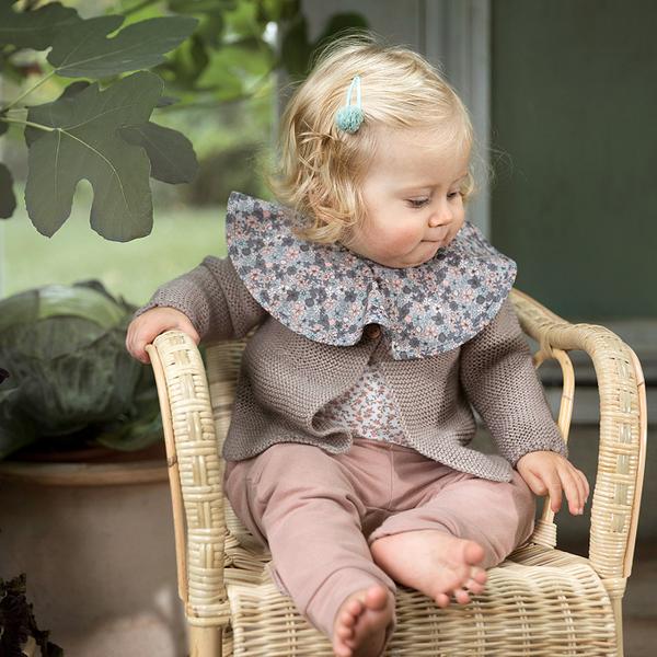 瑞典 Elodie Details 360度有機棉吸水圍兜 口水巾 - 花花世界、花團錦簇 Petite Botanic