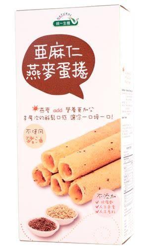 統一生機~亞麻仁燕麥蛋捲114公克/盒