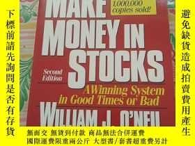 二手書博民逛書店How罕見To Make Money In Stocks: A