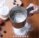 250克 手壓式麵粉篩 不鏽鋼網篩 麵粉...