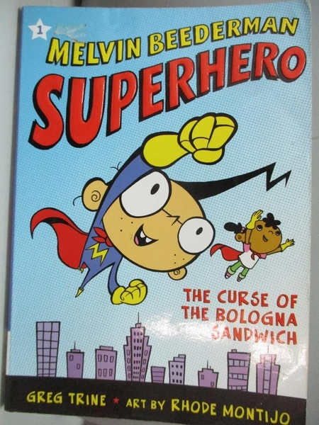 【書寶二手書T1/原文小說_AKN】Melvin Beederman, Superhero, in the Curse of the..