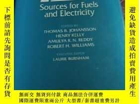 二手書博民逛書店Renewable罕見Energy Sources for Fu
