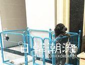 寵物圍欄 狗圍欄 泰迪小中型犬金毛大型犬狗狗籠子小狗柵欄兔子 室內寵物圍欄