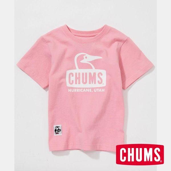 CHUMS 日本 童 Booby 短袖T恤 粉紅 CH211051R018