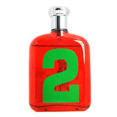 ※薇維香水美妝※Ralph Lauren Polo BIG PONY#2 魅力男性淡香水 tester 125ml