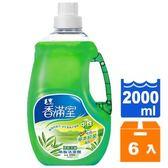 毛寶 香滿室 清新茶樹 中性 地板清潔劑 2L(6入)/箱