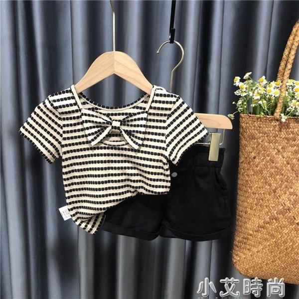 女童網紅t恤嬰兒小女孩上衣女寶寶夏裝兒童短袖夏季新款夏款衣服 小艾新品