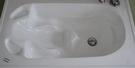 【麗室衛浴】BATHTUB WORLD H-089/H-089A 嬰兒壓克力造型崁入浴缸