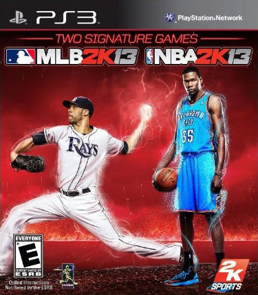 PS3 2K Sports Combo Pack - MLB2K13/NBA2K13 美國職棒大聯盟 2K13+NBA 2K13(美版代購)
