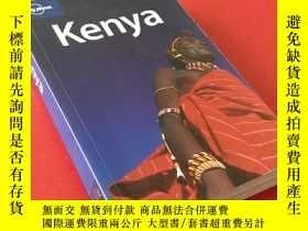 二手書博民逛書店Lonely罕見Planet Kenya(英文版 孤獨星球旅遊指