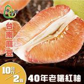 普明園.嚴選台南麻豆40年老欉紅柚(10台斤/箱,共2箱)*預購*﹍愛食網
