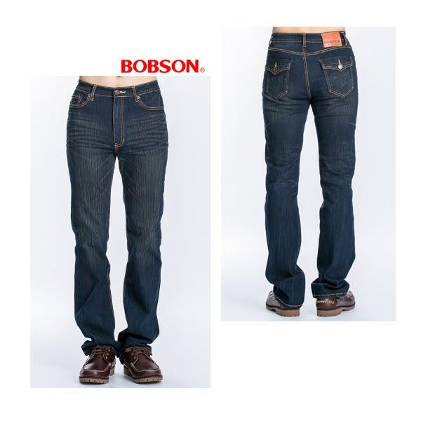 BOBSON  男款直筒牛仔褲 (1741-53)