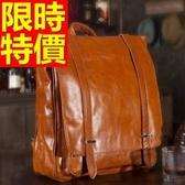 後背包-真皮別緻輕巧獨一無二經典個性韓風男女-雙肩包包-2色61s6【巴黎精品】