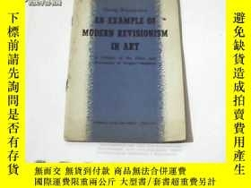二手書博民逛書店AN罕見EXAMPLE OF MODERN REVISIONIS