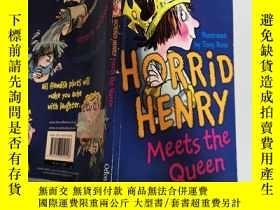 二手書博民逛書店horrid罕見henry meet the queen 可怕的亨利遇見了女王Y200392
