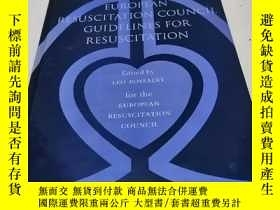 二手書博民逛書店EUROPEAN罕見RESUSCITATION COUNCIL GUIDELINES FOR RESUSCITAT