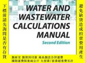二手書博民逛書店Water罕見And Wastewater Calculatio