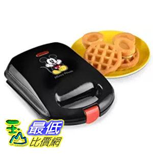 [美國直購] Disney DCM-9 米奇 米老鼠造型 迷你鬆餅機 Mickey Mini Waffle Maker, Black