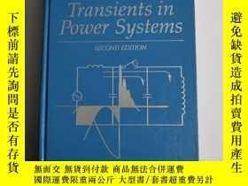 二手書博民逛書店Electrical罕見Transients in Power SystemsY201150 ALLAN GR