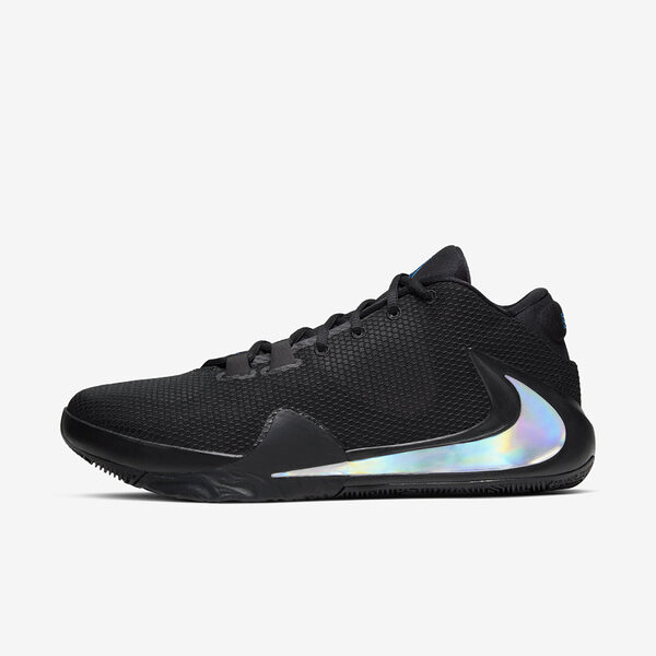 Nike Zoom Freak 1 EP [BQ5423-004] 男鞋 運動 籃球 氣墊 避震 靈敏 經典 穿搭 黑銀