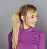 Kappa 女生 慢跑內搭高領衫(厚款合身版)背面刷毛FA46-F043-9