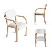 【IKHOUSE】柳安原木北歐風餐椅-餐椅-開店-家具