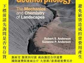 二手書博民逛書店Geomorphology:罕見The Mechanics An