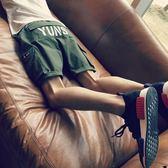 夏季潮流休閒中褲工裝短褲男士夏天青少年寬鬆五分褲正韓運動褲子