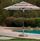 [COSCO代購] W1902293 11呎 戶外木紋遮陽傘
