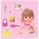 ◆ 內含可愛精緻的配件,讓小寶貝體驗照顧小美樂的樂趣  ◆ 可以跟小朋友一起泡澡,成為你的洗澡好玩伴