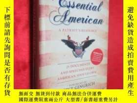 二手書博民逛書店The罕見Essential American: 25 Docu