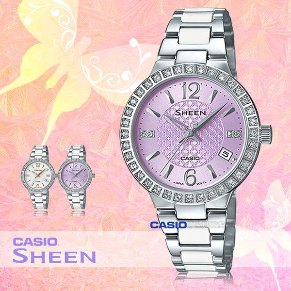 CASIO 卡西歐 手錶專賣店 SHE-4049D-6A 女錶 不鏽鋼指針錶帶  防水 全新品 保固一年