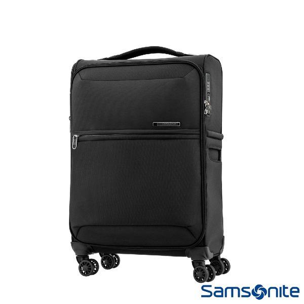 Samsonite新秀麗 20吋72H DLX 飛機輪TSA極輕量布面登機箱(黑)
