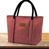 飯盒袋防水拉?手提便當包卡通媽咪包大號帶飯包學生小方包拎包