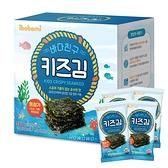 韓國 ibobomi 無調味海苔片 10包入 無加鹽 海苔 兒童海苔 0058 拌飯料 副食品