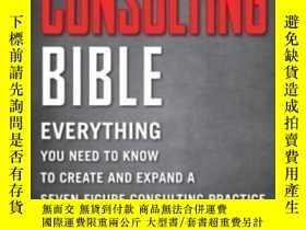 二手書博民逛書店The罕見Consulting BibleY256260 Alan Weiss John Wiley &amp