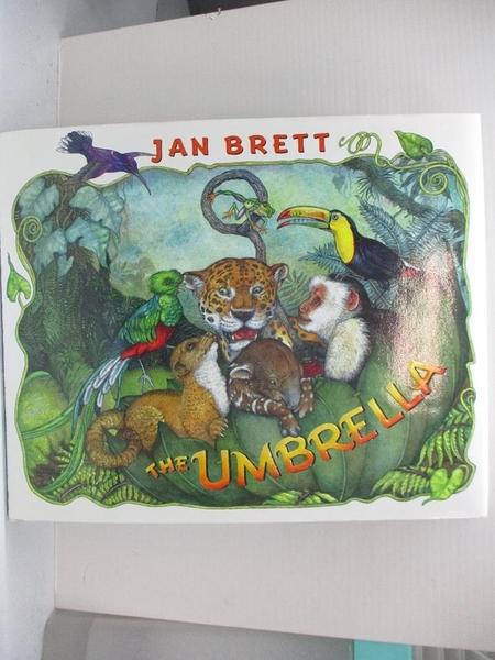 【書寶二手書T7/少年童書_EDG】The Umbrella_Brett, Jan