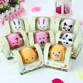 創意小毛巾-可愛造型兒童獎勵生日情人節禮物動物手帕4款73ja6【時尚巴黎】