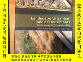 二手書博民逛書店landscape罕見urbanism and its disc