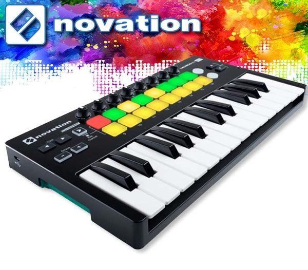 【小麥老師 樂器館】好禮贈送!Novation Launchkey mini mkII midi 控制鍵盤